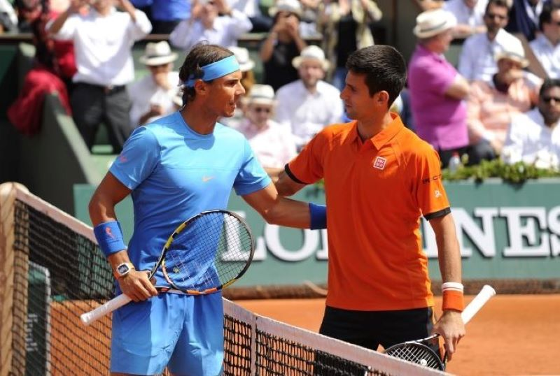 Novak Djokovic sets up French Open semifinal clash with Rafael Nadal