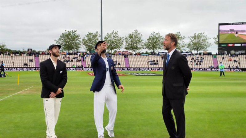 WTC Final: NZ win toss, opt to bowl first against India