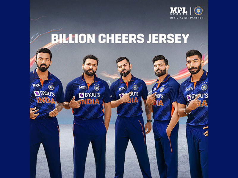 BCCI unveils new jersey of Indian cricketers for World T20