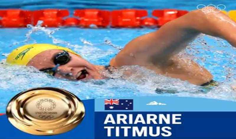 Tokyo Olympics: Australian swimmer Titmus beat WR holder Ledecky for 400m freestyle gold