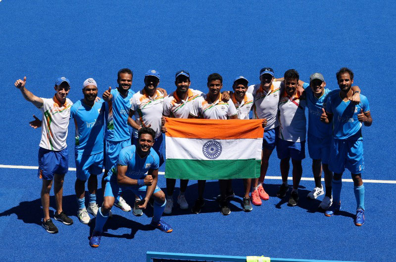 Indian men's hockey team script history winning an Olympic medal after more than four decades
