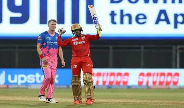 IPL 2021: Samson's ton goes in vain, PBKS beat RR by 4 runs