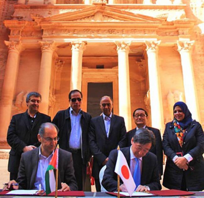 Japan grants Jordan JD4.76m to build Petra museum