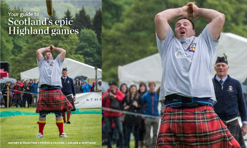 Highland Culture takes centre stage during Scotland's Highland Homecoming