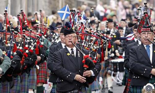 Pipefest kicks off Stirling's Big Weekend in Scotland