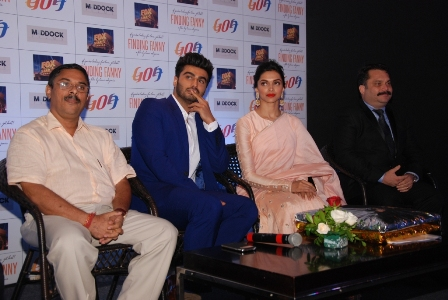 Finding Fanny associates with Goa Tourism
