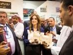 Jordon's Queen Rania meets global journalists in Amman