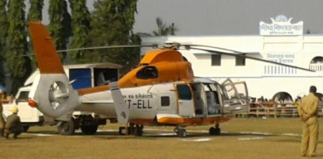 Mamata Banerjee flags off Kolkata-Digha helicopter service, becomes first passenger
