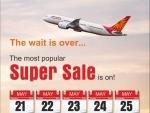 Air India launches 'Super Sale'