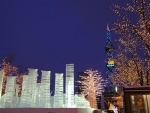 Sapporo (Japan) holds its annual Snow Festival in February