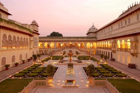 Taj's Rambagh Palace ranks sixth on Travel Weekly UK's top ten best heritage hotels in the world list