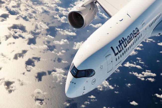 Lufthansa's Airbus A350-900XWB makes debut at Mumbai Airport