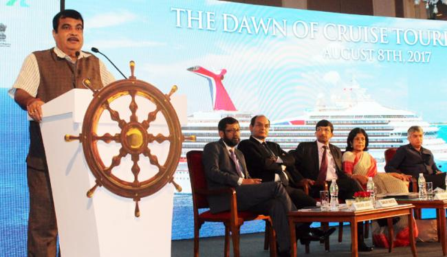 Cruise tourism in India has huge potential to generate employment and revenue, says Union shipping minister