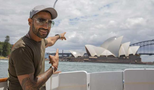 Australia collaborates with Shikhar Dhawan to boost up tourism industry