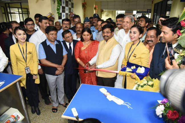 Jet Airways connects Allahabad to Lucknow and Patna