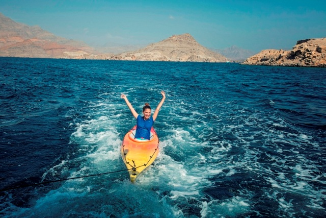 Experience adrenaline rush in Oman