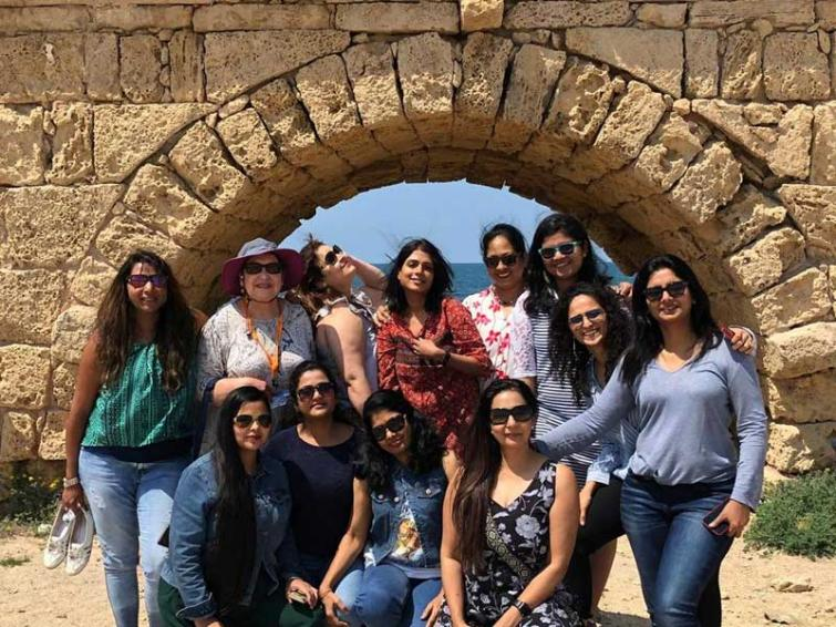Israel Ministry of Tourism hosts a women's special group of Indian travel agents to Israel