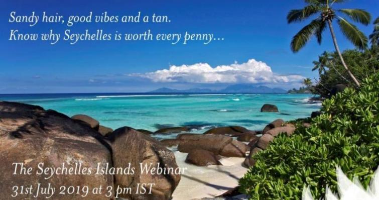 Seychelles Tourism Board, TravelGyaan to hold destination training webinar