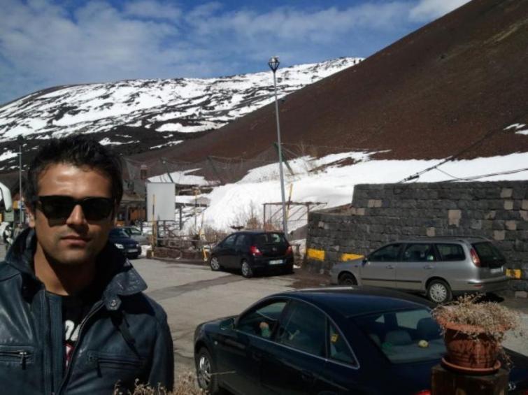 I am a big fan of volcanoes: Actor Abhishek Singh