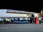 SriLankan Engineering certifies the Singapore Airlines' first Boeing 787 operated to Malé