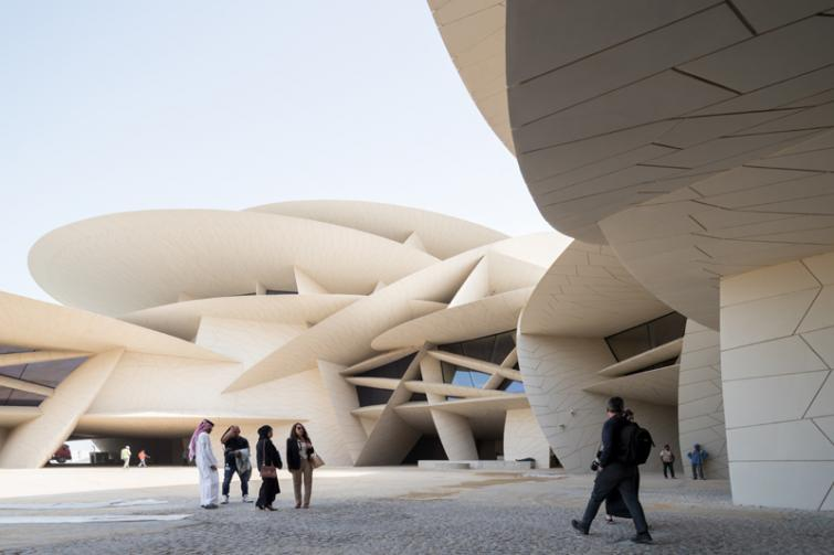 The National Museum of Qatar opens to the public
