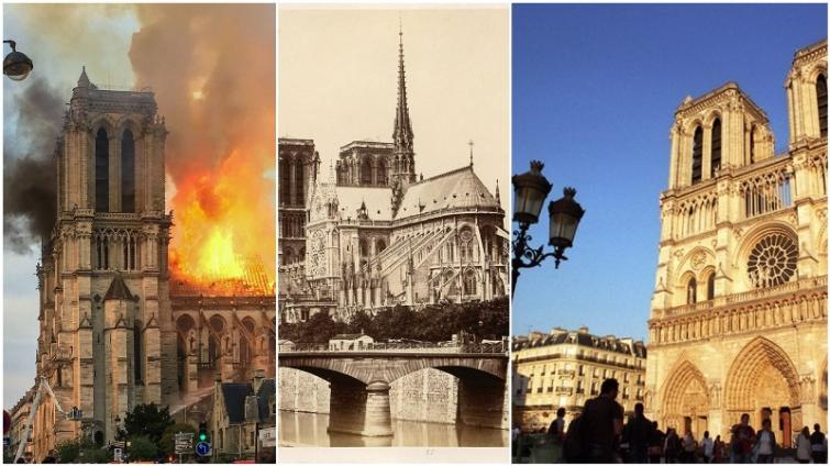 Notre-Dame fire in Paris under control but a rich history in the ashes