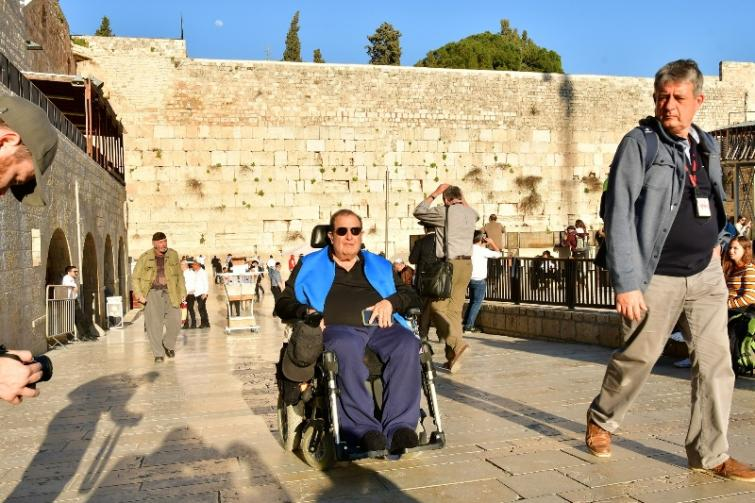 Old Jerusalem city now more accessible to wheelchair users, visually imapaired