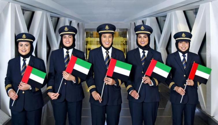 Emirati Women's Day: Emirati first officers at Emirates spread their wings to five continents