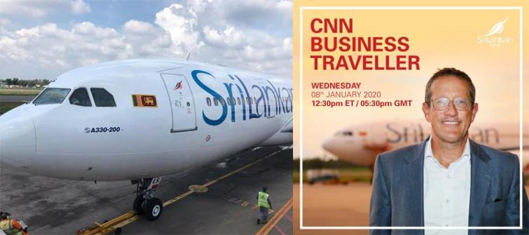 Global media icon Richard Quest applauds his SriLankan experience
