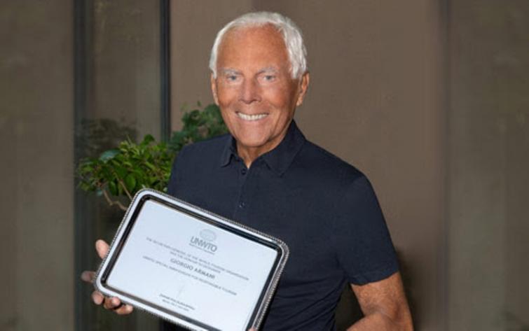 UNWTO names Giorgio Armani and Gino Sorbillo Special Ambassadors for Tourism