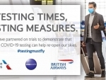 Free transatlantic COVID-19 testing trial launched by American Airlines, British Airways and oneworld