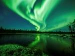 Tel Aviv enjoys the dancing Northern Lights thanks to Visit Rovaniemi