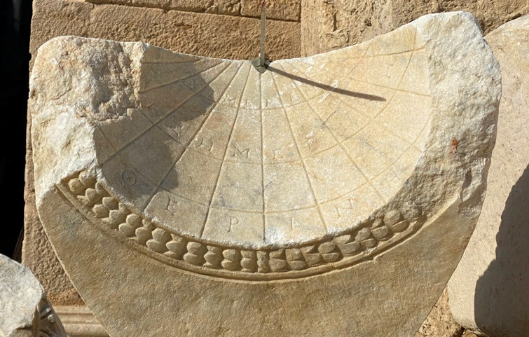 2,000 year-old sundial recovered in Turkey's Anatolia