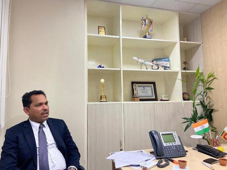 V Ravindran, Regional Manager, India and Bangladesh, SriLankan Airlines
