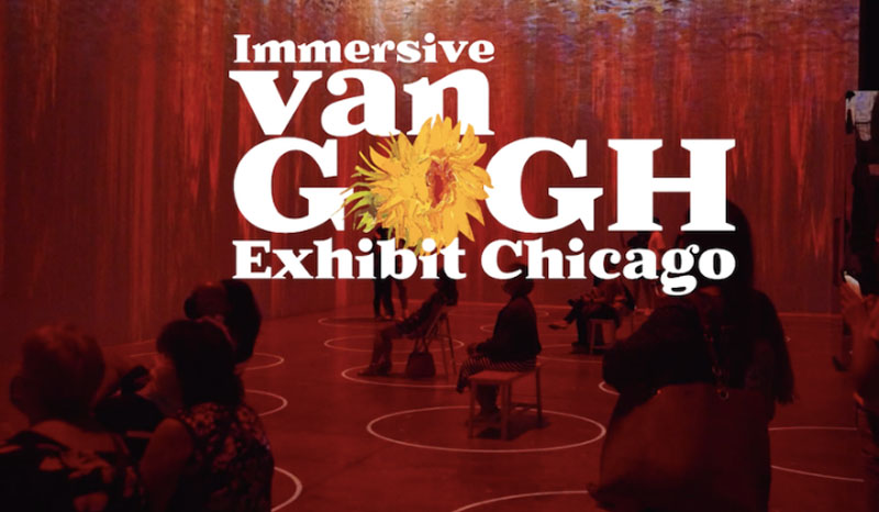 Chicago to host US premiere of Immersive Van Gogh in a new venue dedicated to immersive art