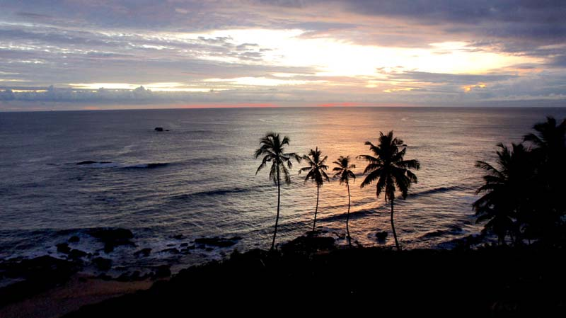 In Image: A Galle sunset from Amari Galle