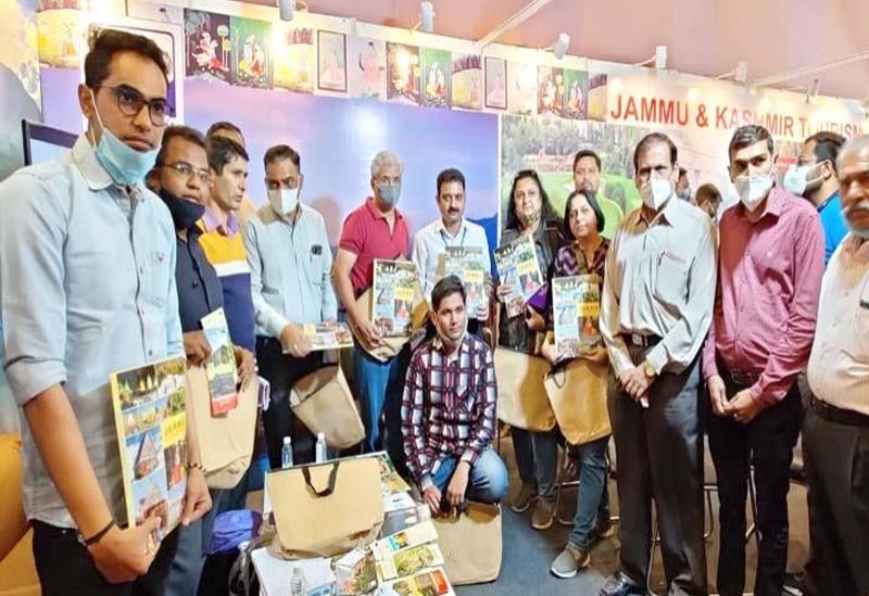 Jammu and Kashmir Tourism deptt participates in ITM, Ahmedabad
