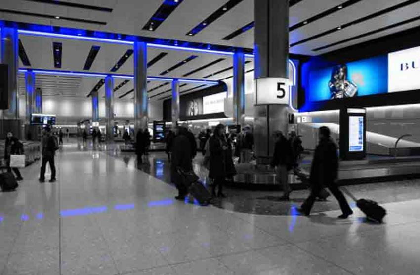 Separate dedicated channel for passengers arriving at UK's Heathrow Airport from Red List countries