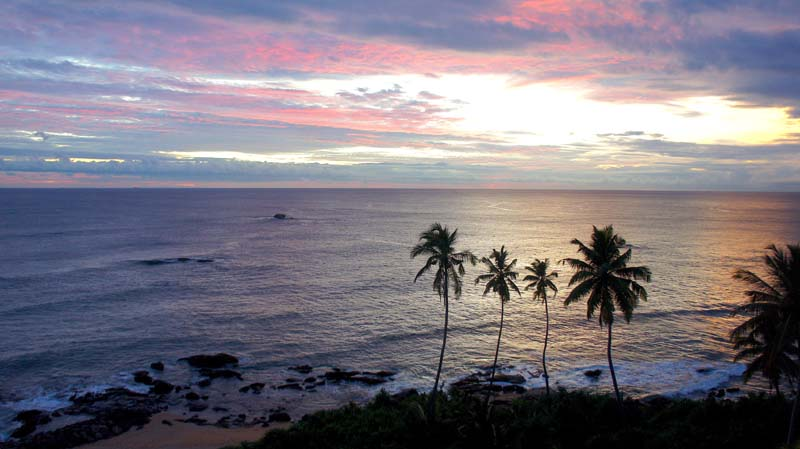 In Image: A Galle Sunset