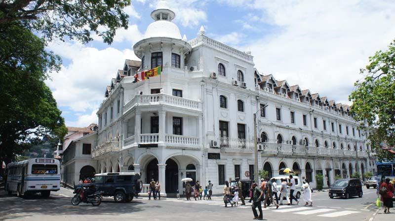 In image: Kandy is Sri Lanka