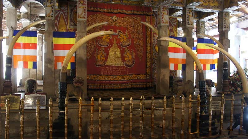 The Temple of the Sacred Tooth enshrines Sri Lanka's most important relic of Lord Buddha