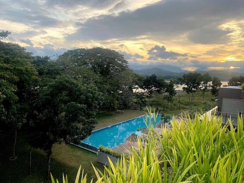 In Image: A morning view from one of the rooms of Jetwing Kandy Gallery