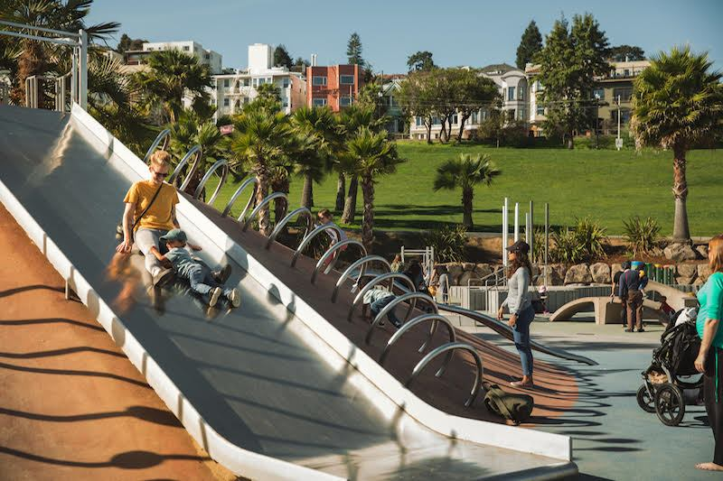 Dolores Park/ San Francisco Travel Association.