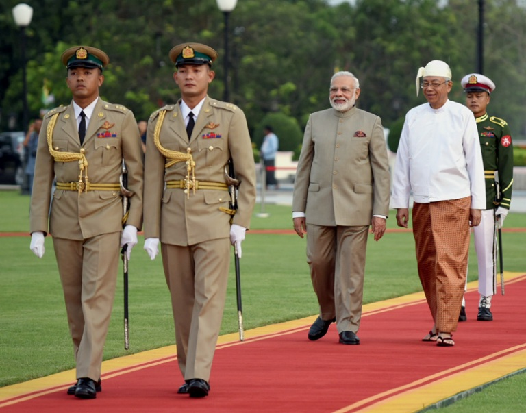 India to grant free visa to Myanmar citizens: Modi
