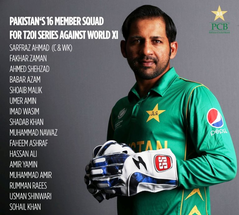 Hafeez unlikely to be in national squad for World XI series