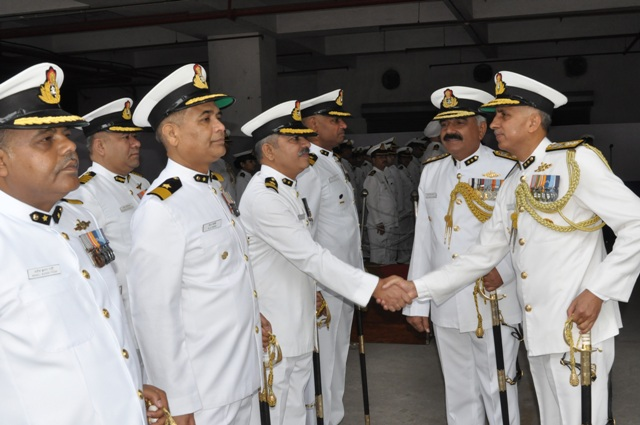 IG Rajan Bargotra takes over as command of Coast Guard NE