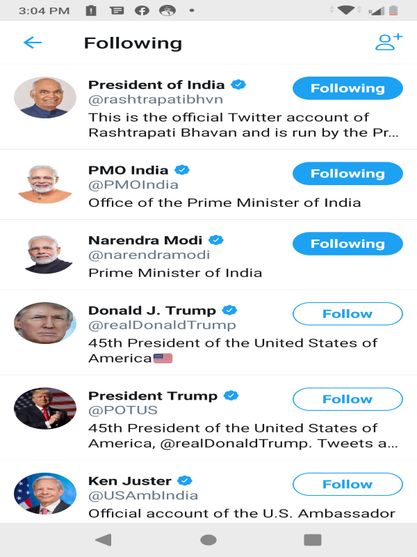 PM Modi is the only world leader followed by White House on ...