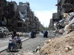 Syria: Gunfire forces UN to suspend food delivery