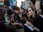 UN envoy Angelina Jolie urges end to sexual violence in conflict