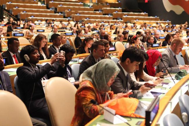 New York: Winners of essay contest on UN sustainability agenda honoured